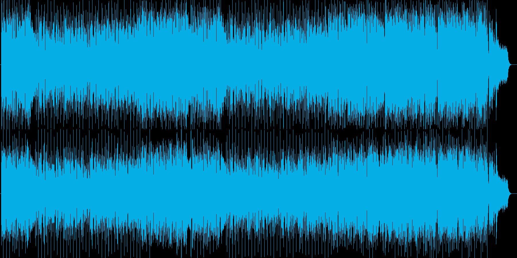 暖かい感じのメローでおだやかなメロディーの再生済みの波形