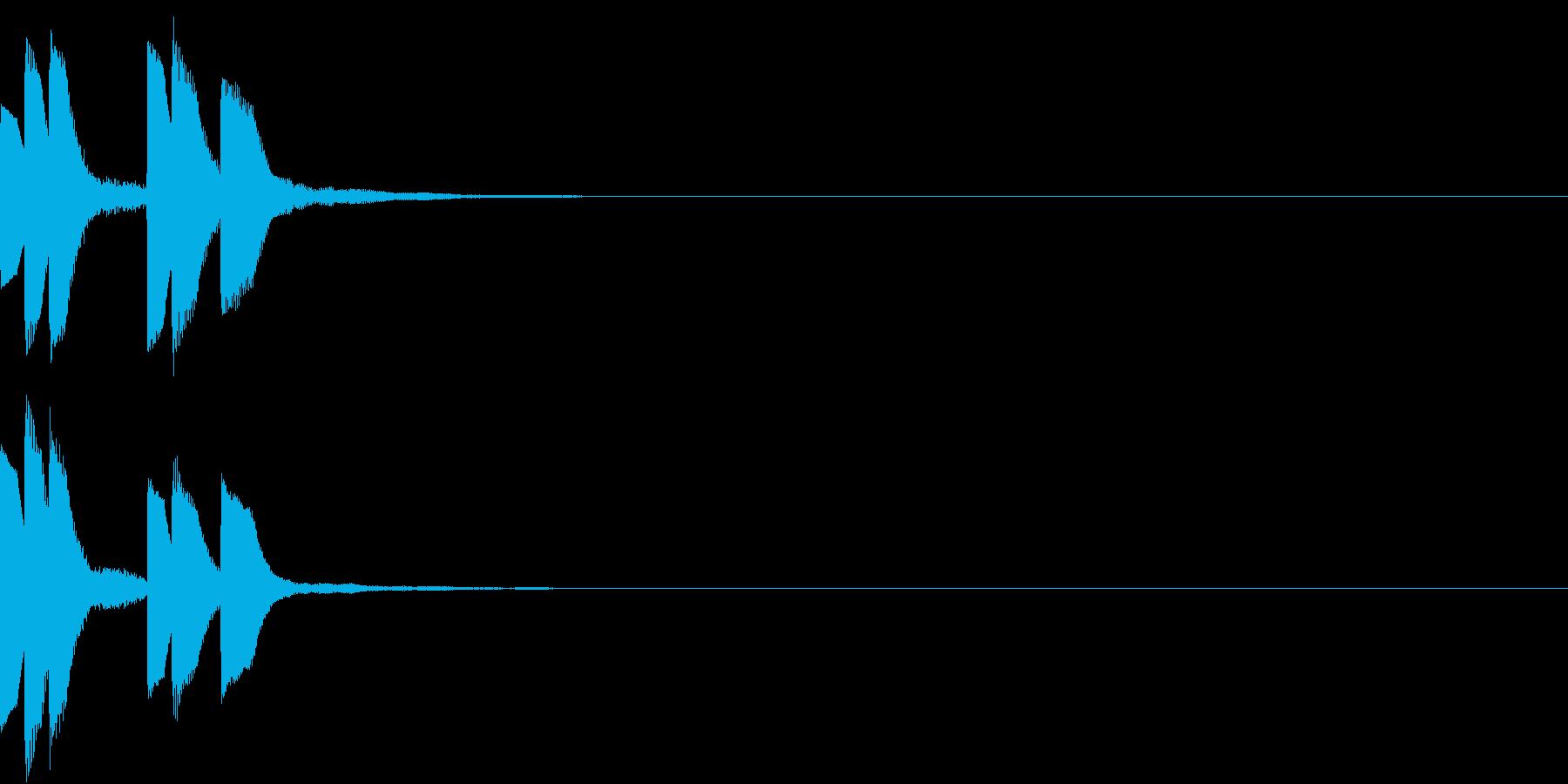 Anime ゆるかわアイキャッチ 3の再生済みの波形