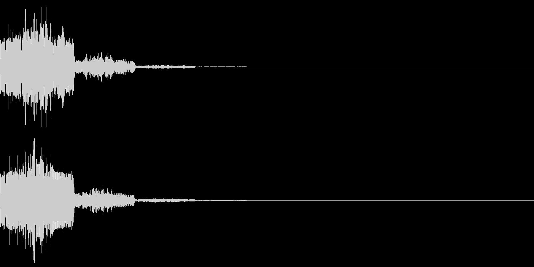 キャンセル音12(シンセ系Q)の未再生の波形