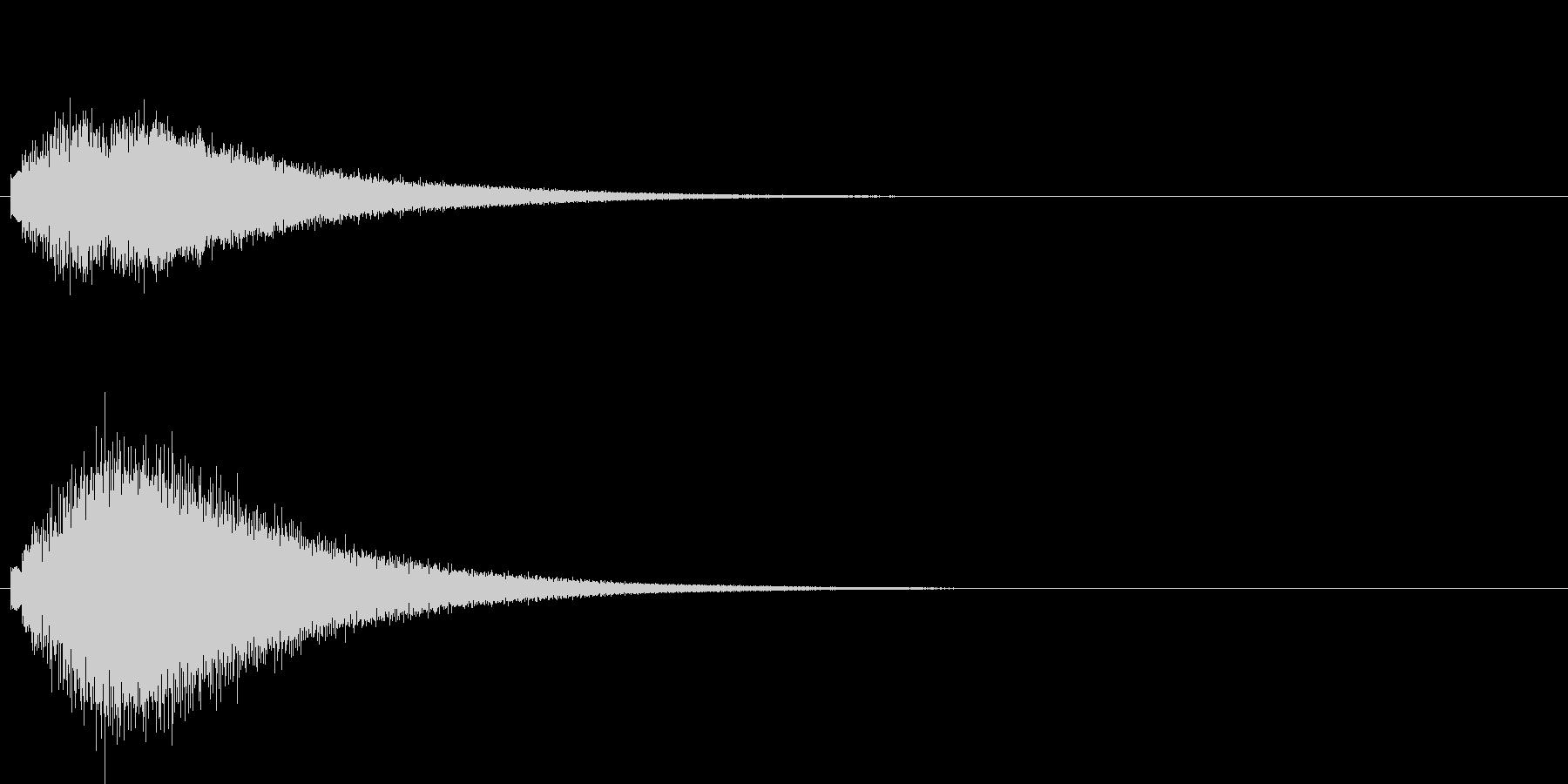 グリッサンド01 グロッケン(上昇)の未再生の波形