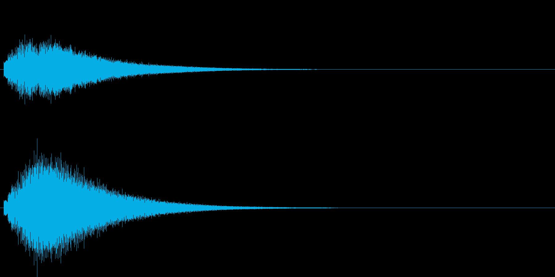グリッサンド01 グロッケン(上昇)の再生済みの波形