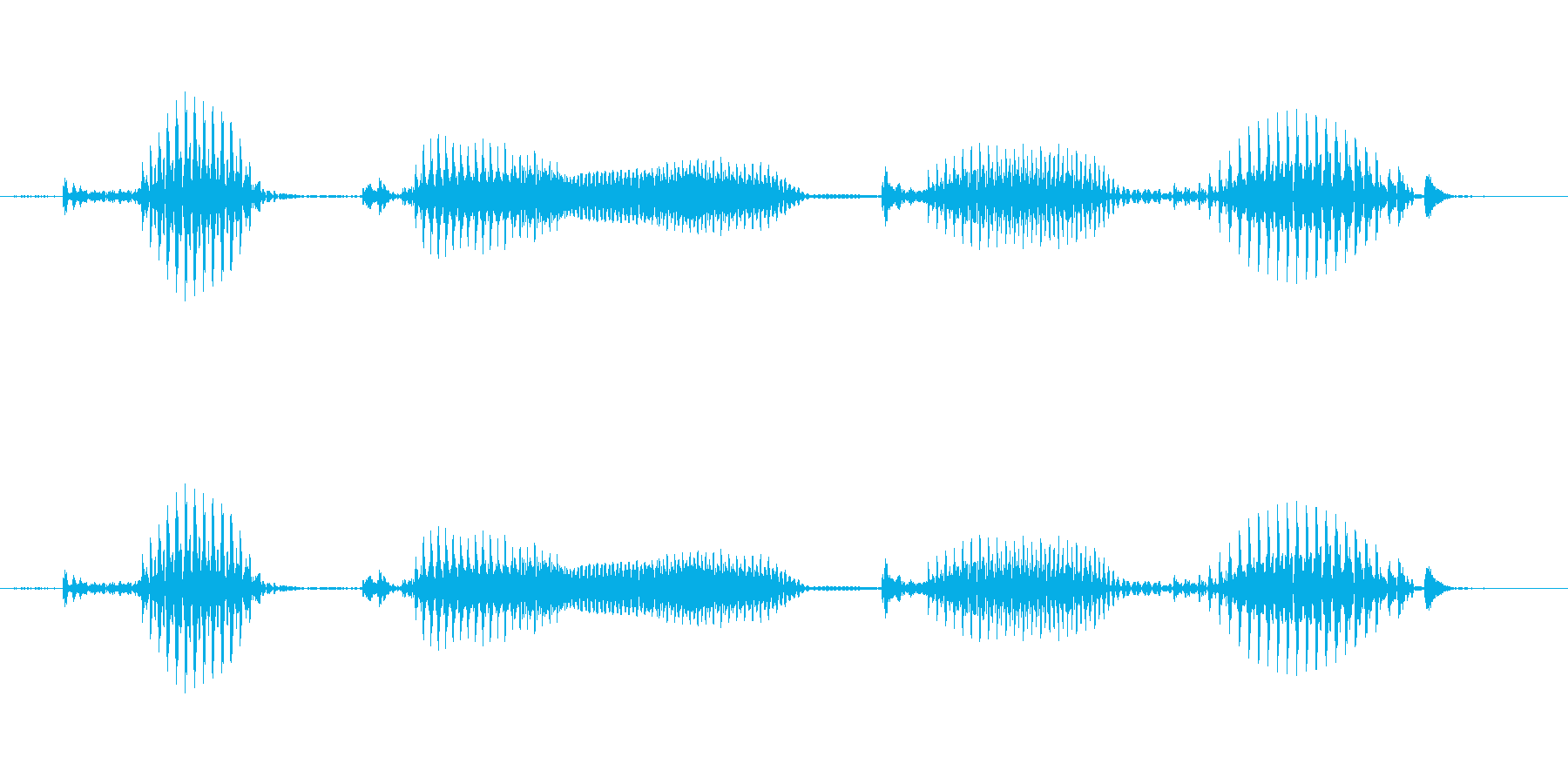 【日数・後】9日後の再生済みの波形
