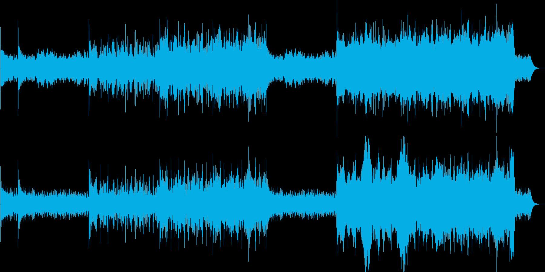 説明動画、きっかけ、段々増える、民族楽器の再生済みの波形