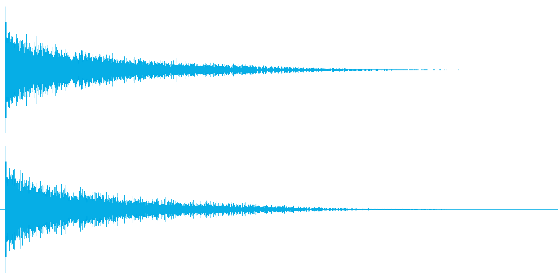 バシューン(撃破/消滅/倒す)の再生済みの波形