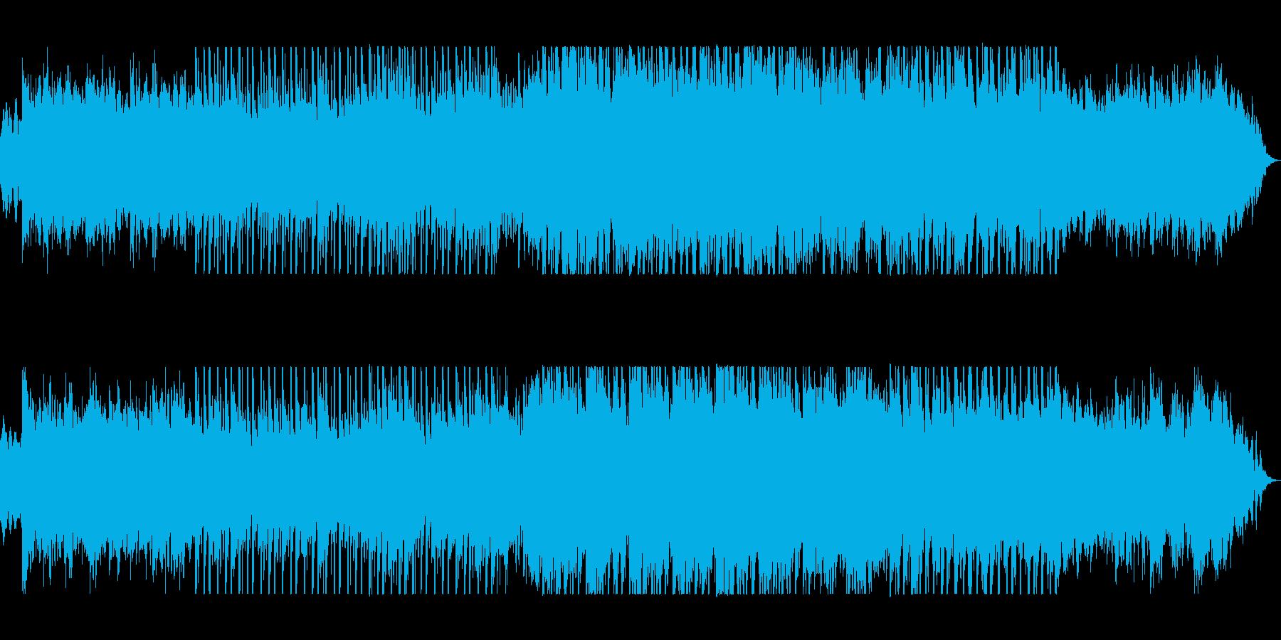 穏やかで少し切ないシンセポップスの再生済みの波形