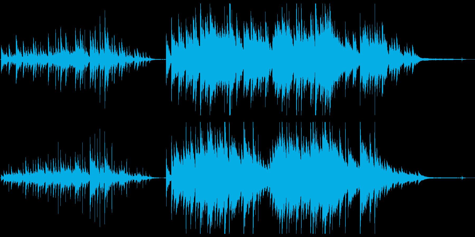 【ピアノソロ】優しく感情的なピアノの再生済みの波形