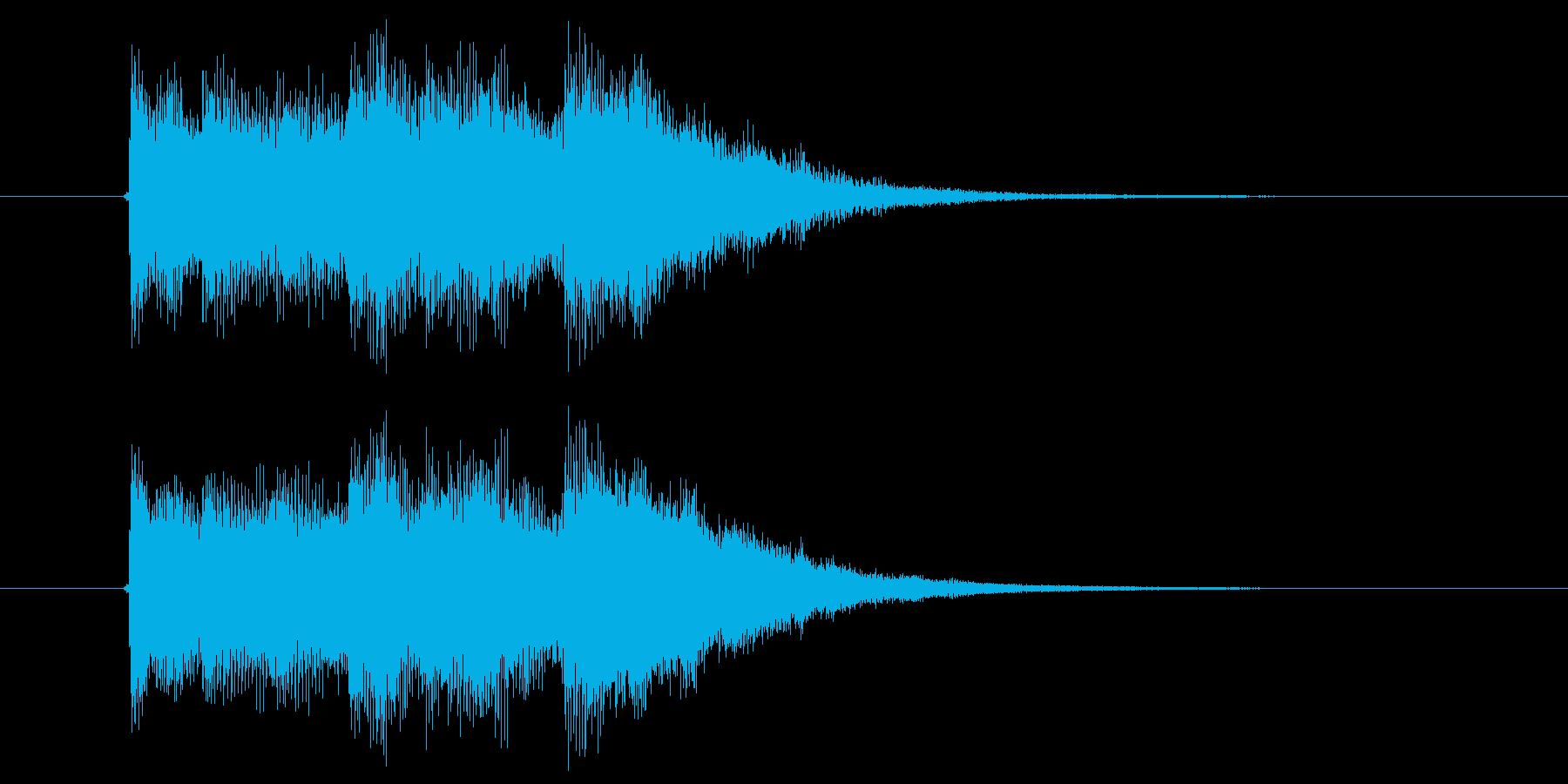 チャラララン(登場、CM、番組)の再生済みの波形