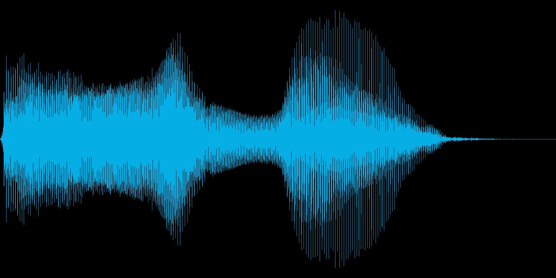 いいね!2【ロリキャラの褒めボイス】の再生済みの波形