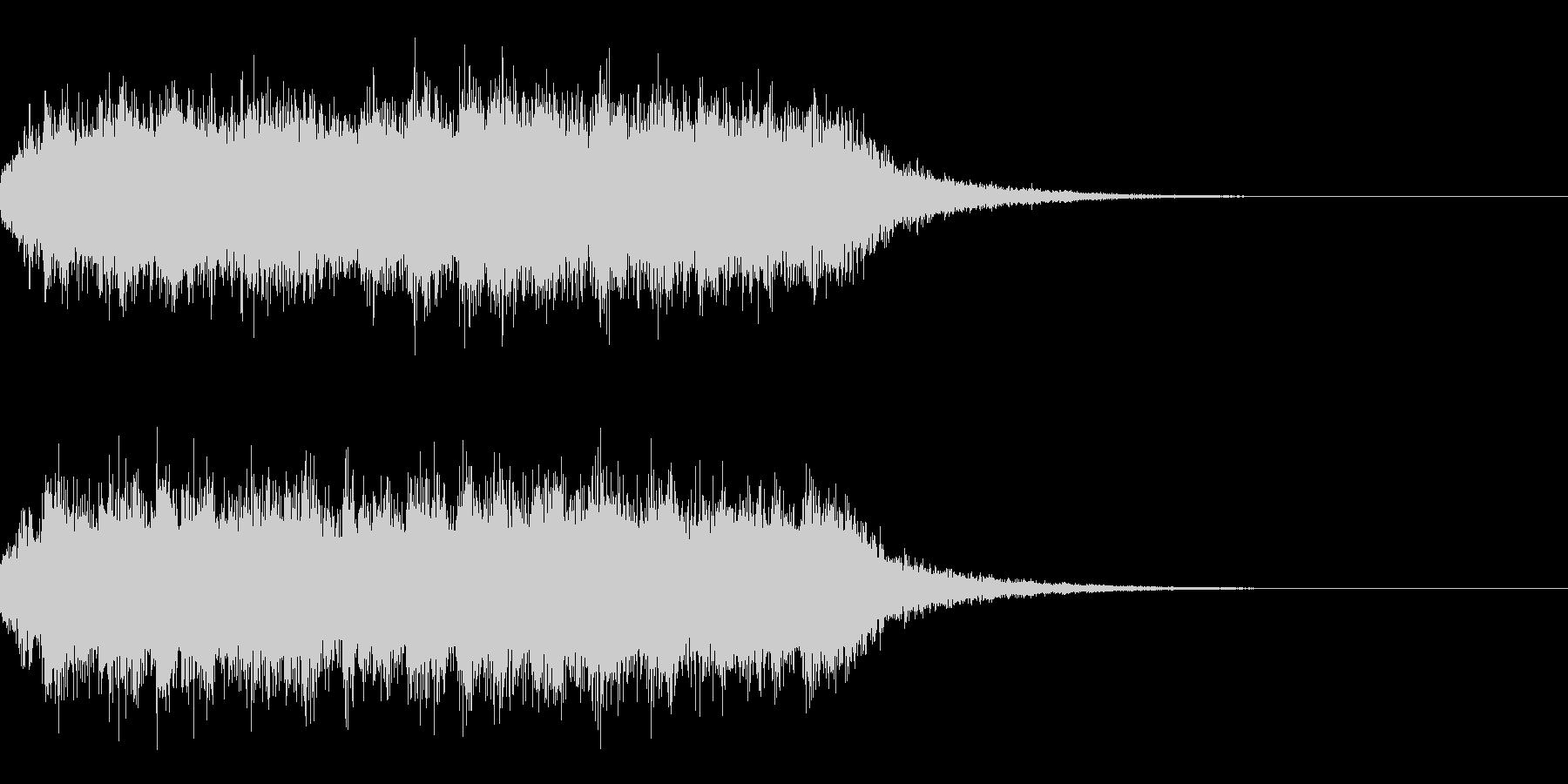 カオス3 オーケストラ練習 感電 混沌の未再生の波形