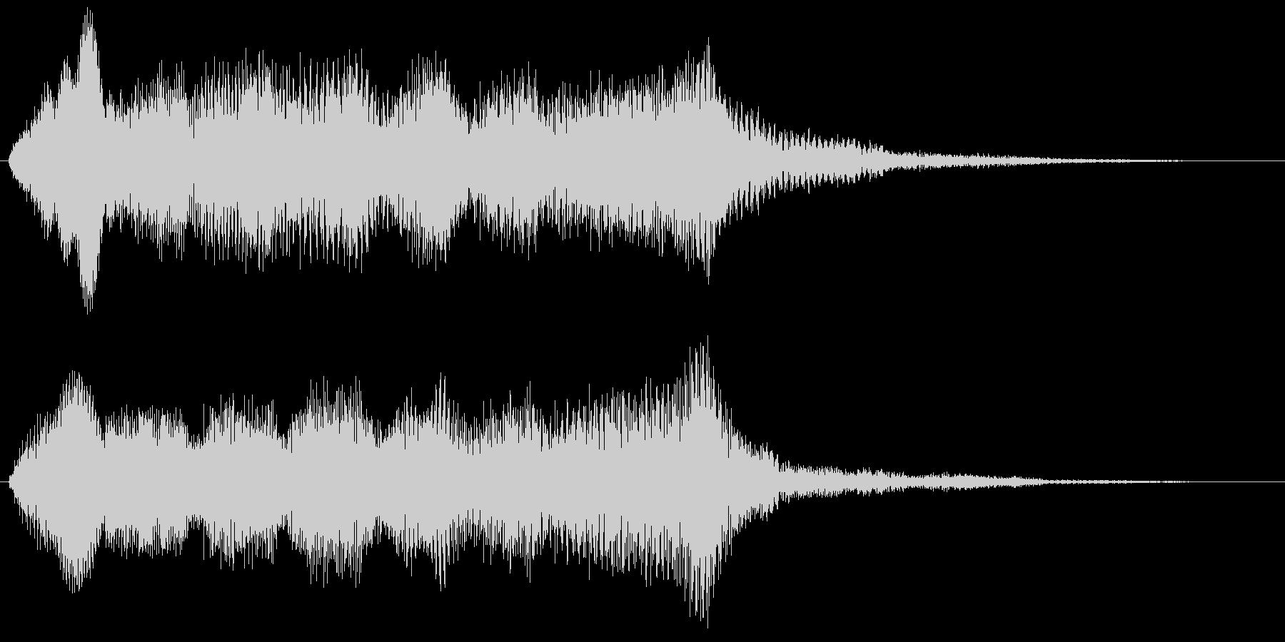 バイオリンフレーズ ゲームオーバー 残念の未再生の波形