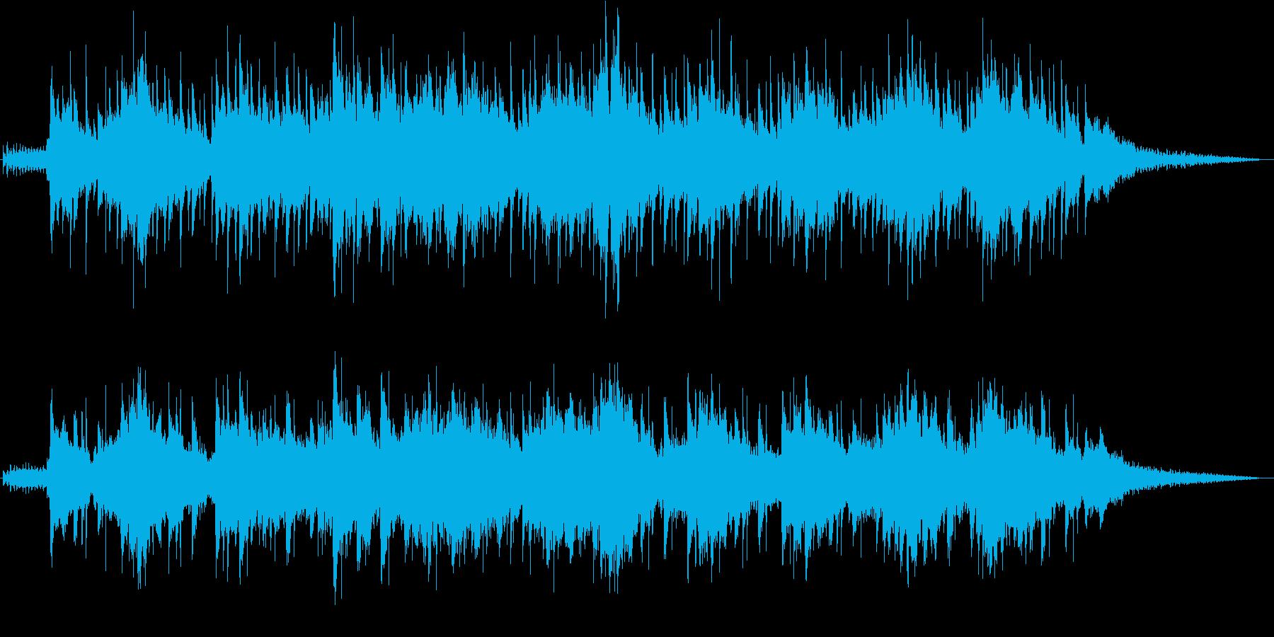 エレピとパーカッションの心地よいヴァイブの再生済みの波形
