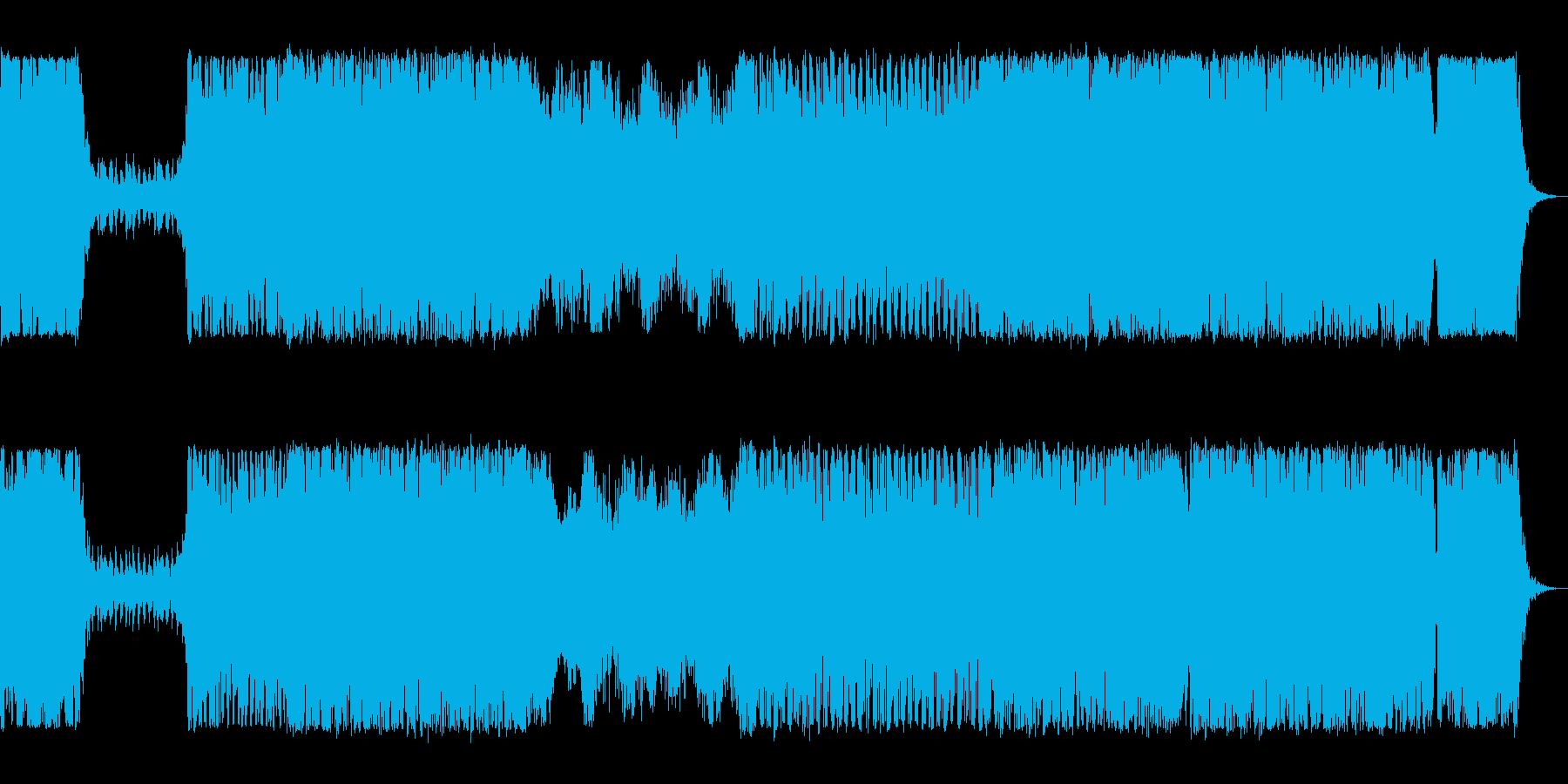 オーケストラ オープニング ボスキャラの再生済みの波形