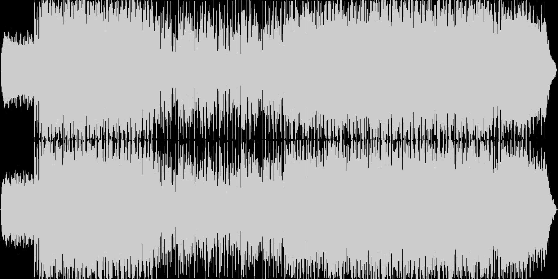 ポップでかわいいEDMの未再生の波形
