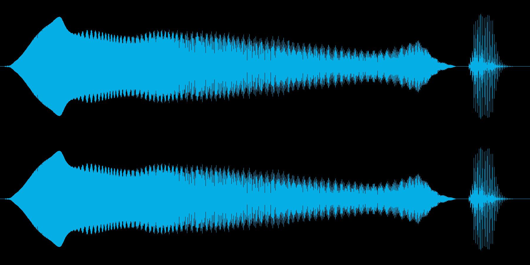 グワンワン・プァ(2種セット)の再生済みの波形