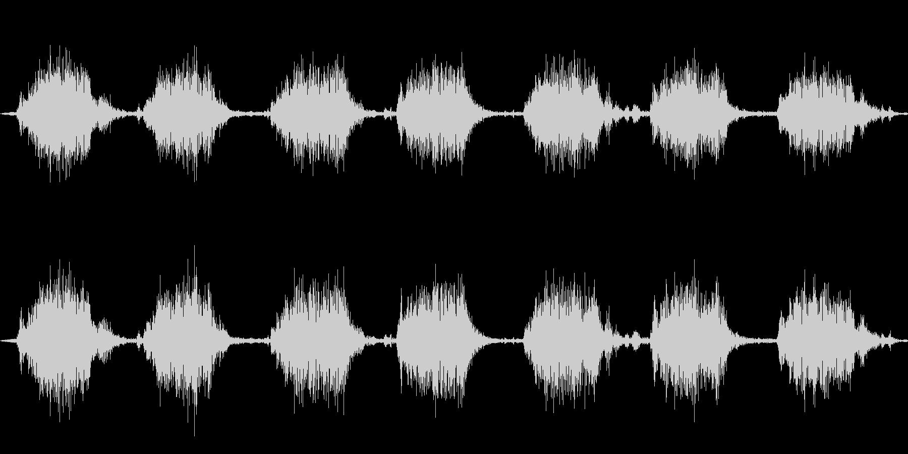 ゴゴ…ゴゴ… 洗濯機の動作音2 ショートの未再生の波形