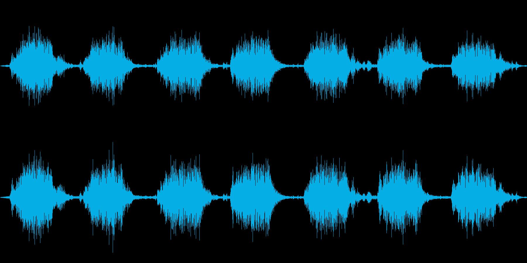 ゴゴ…ゴゴ… 洗濯機の動作音2 ショートの再生済みの波形