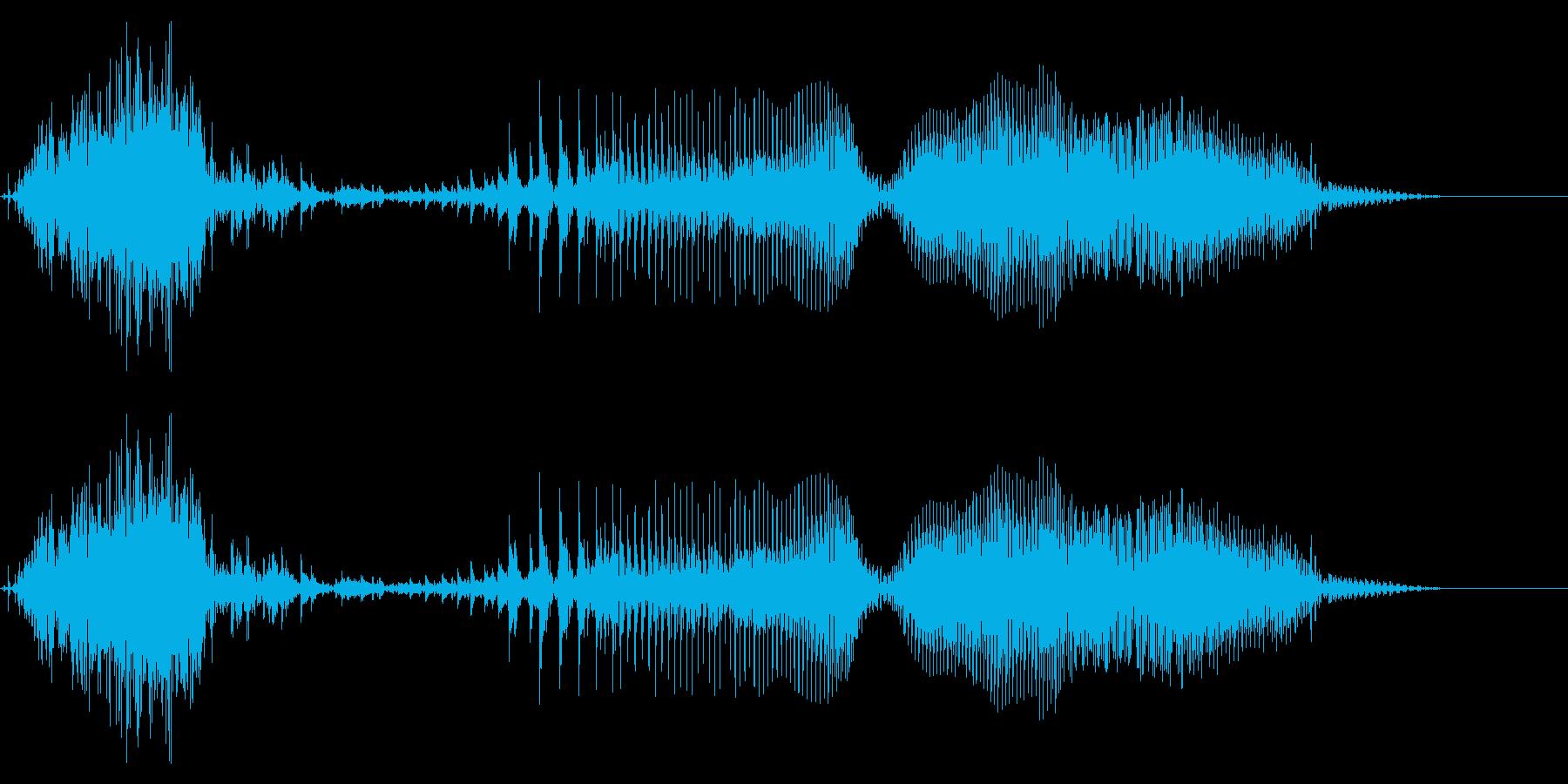 ちぇりあぁ!!(攻撃・掛け声)の再生済みの波形