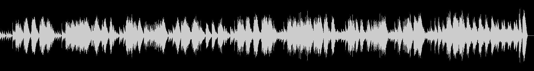 ラベル ボレロ (オルゴール)の未再生の波形