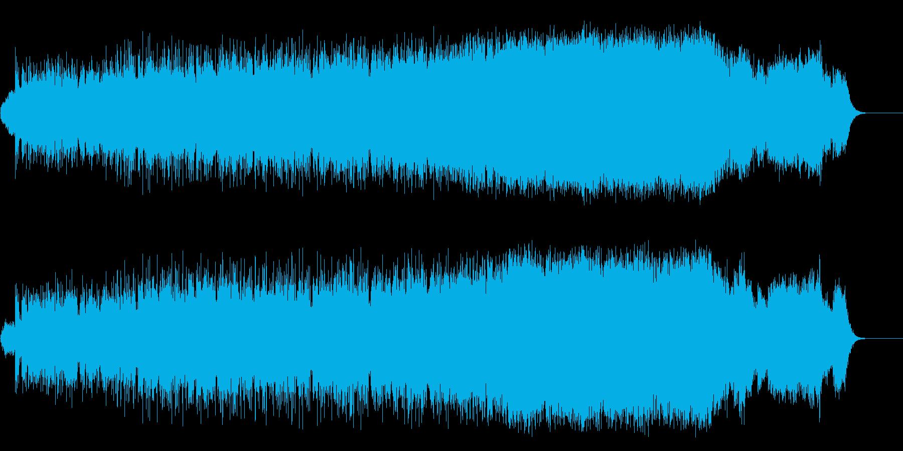 ハウス調マイナー環境/ドキュメントの再生済みの波形