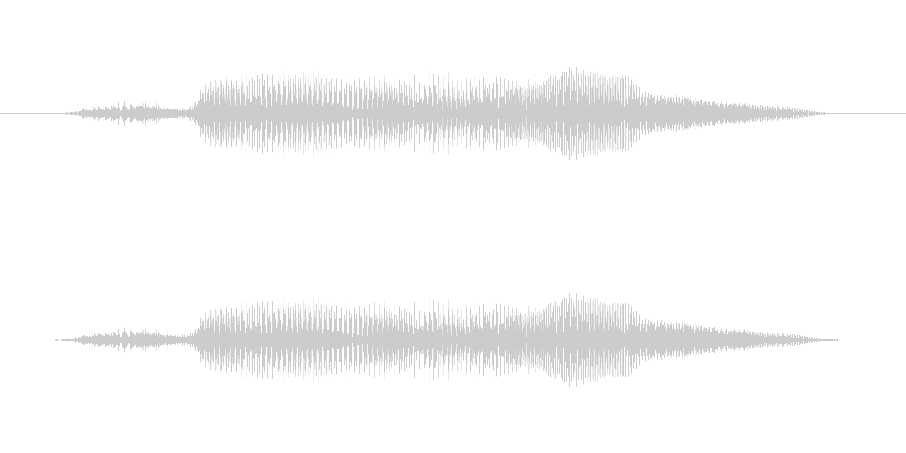 きゅー?【鳴き声】知性のあるペットキャラの未再生の波形