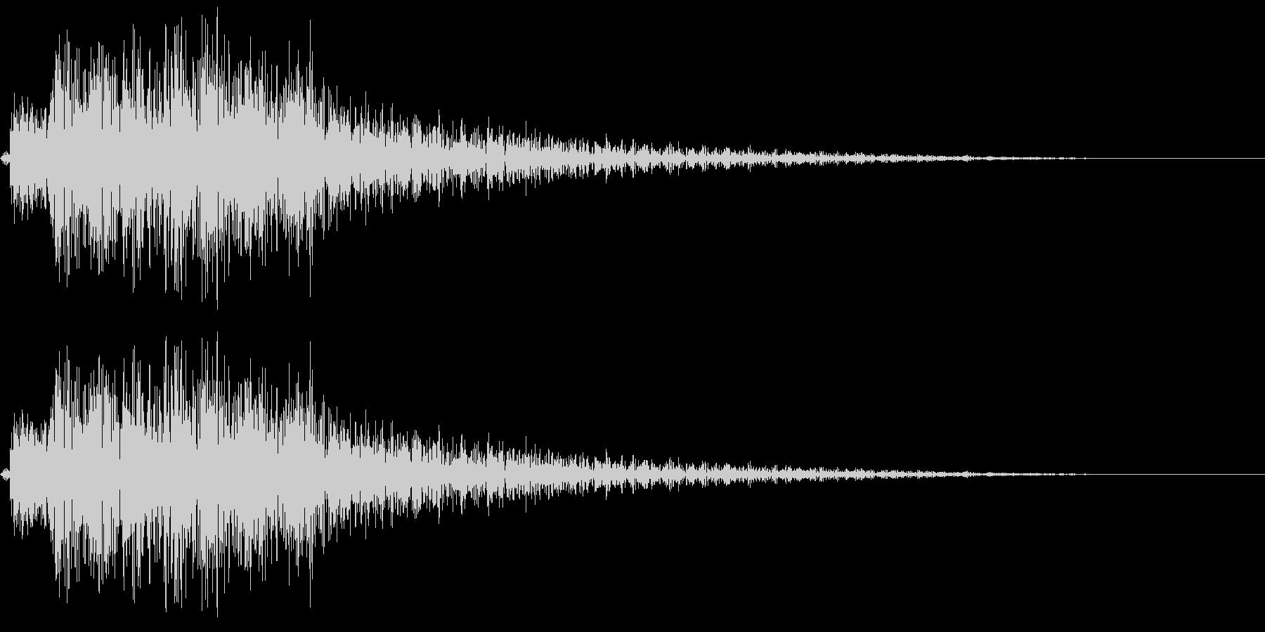 テレレレレン 場面転換の未再生の波形