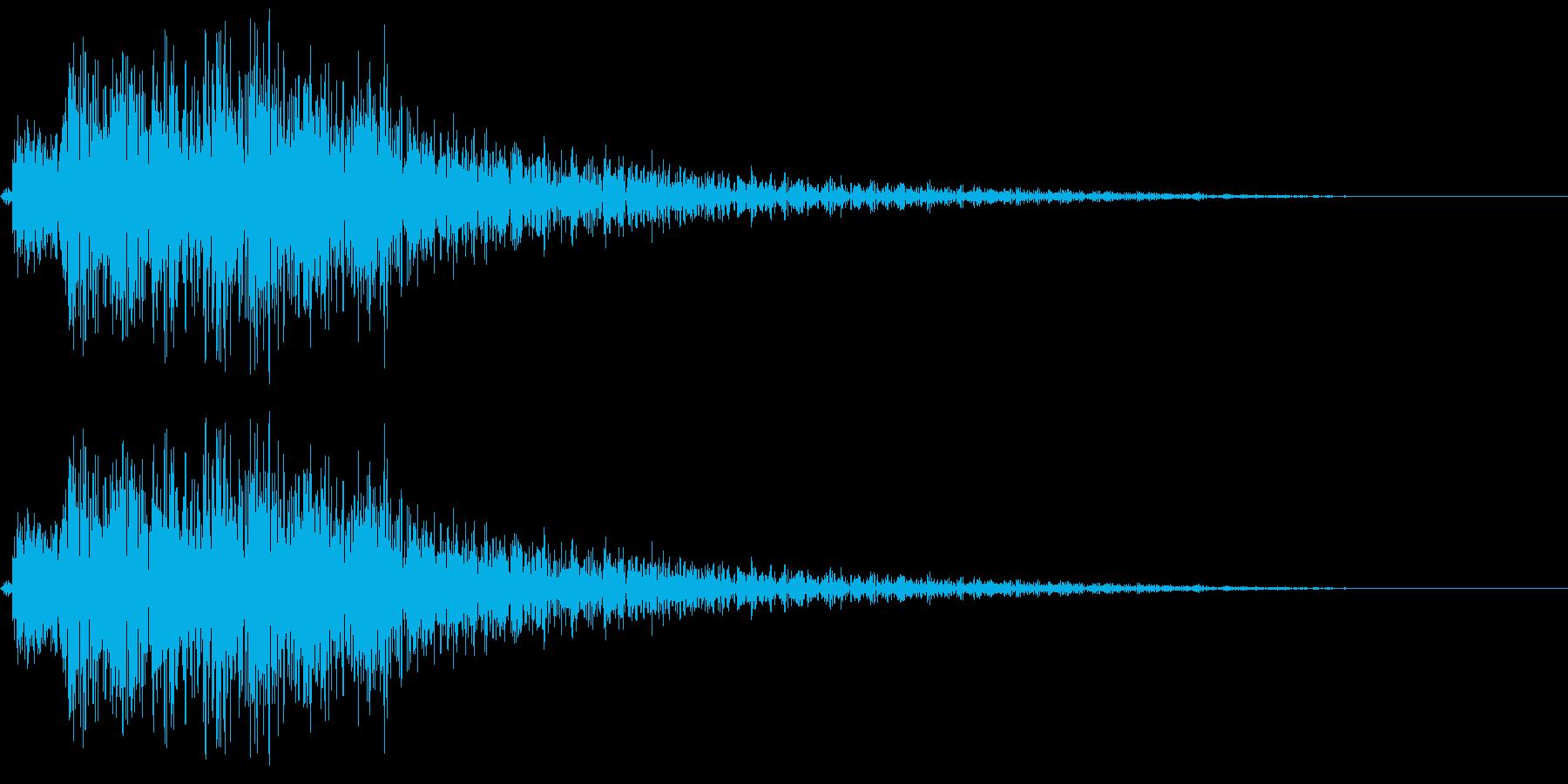 テレレレレン 場面転換の再生済みの波形