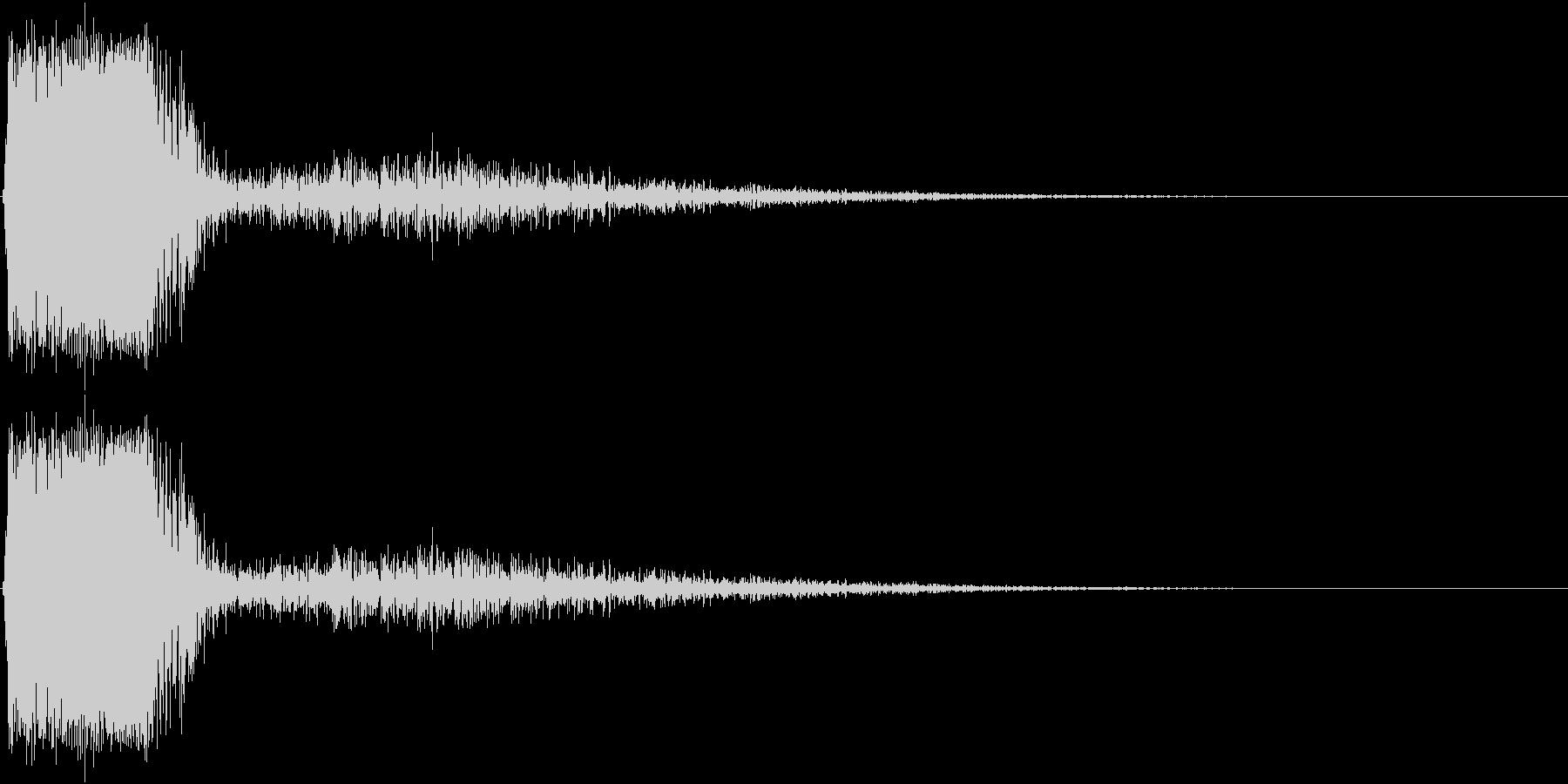 KAKUGE 格闘ゲーム戦闘音 59の未再生の波形