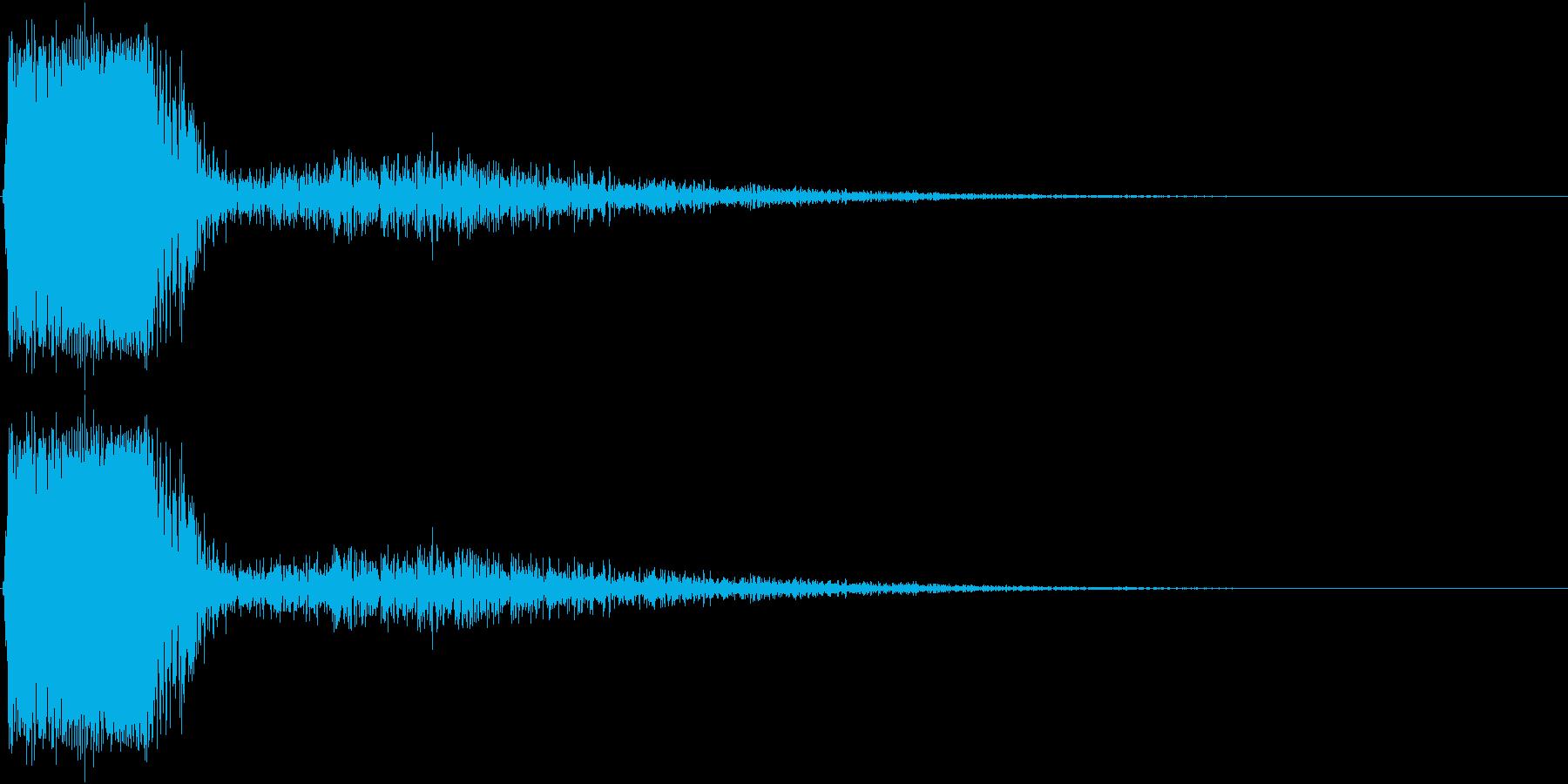 KAKUGE 格闘ゲーム戦闘音 59の再生済みの波形