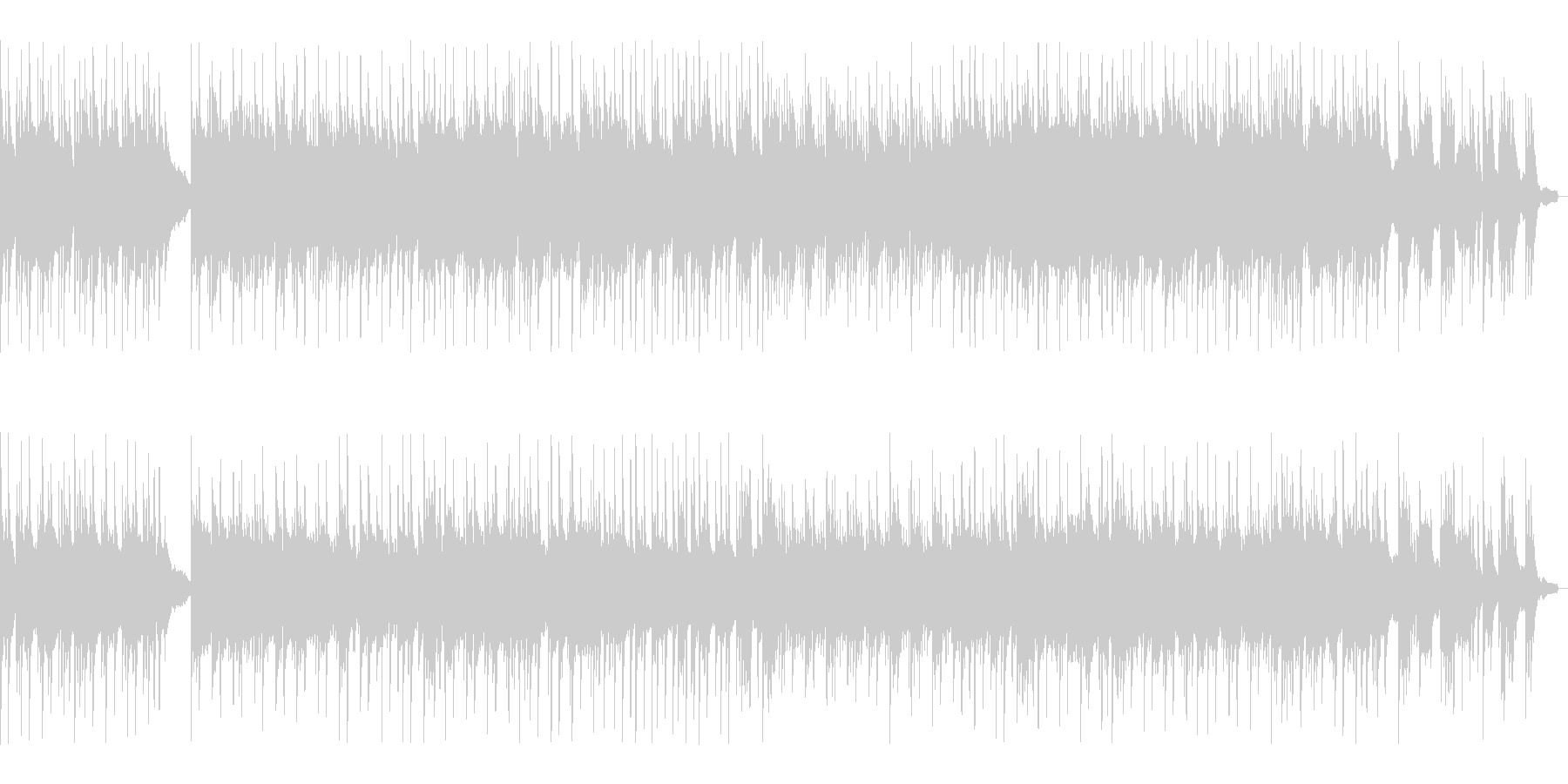 BGM016-03 ピアノとギターの落…の未再生の波形