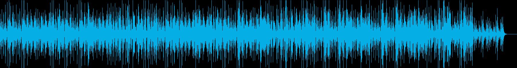 穏やかで滑らかなジャズの再生済みの波形