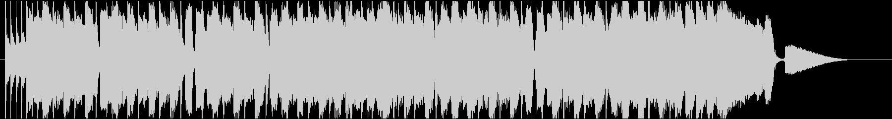 CM動画のオープニングに合うROCKの未再生の波形