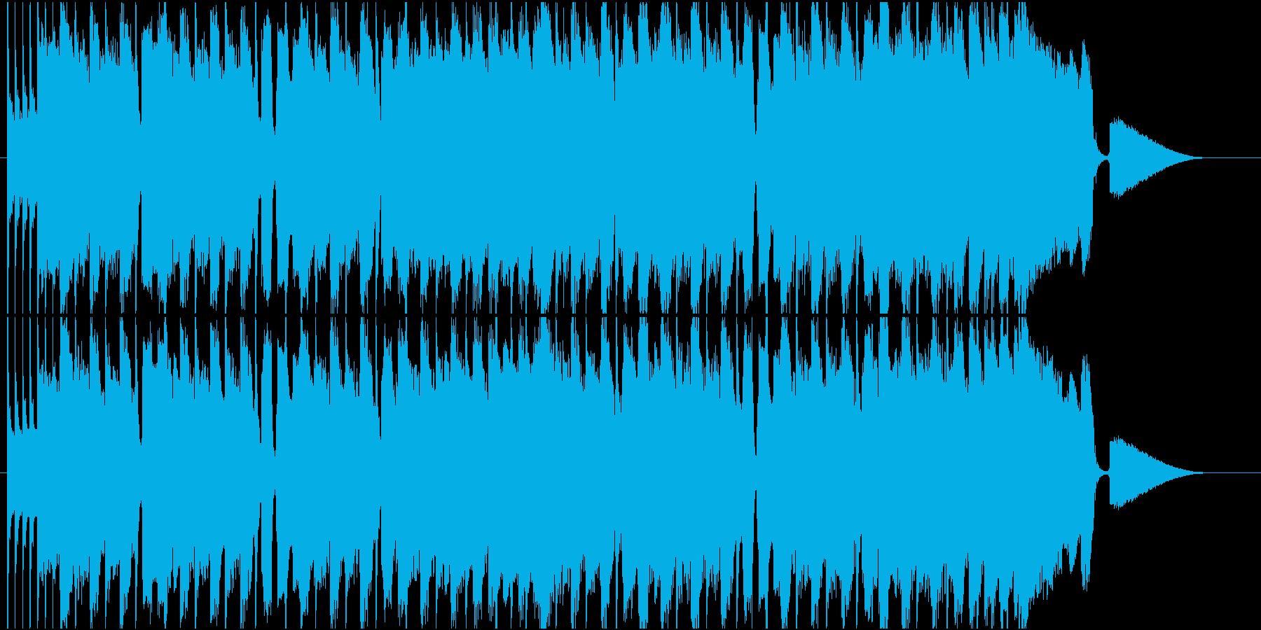 CM動画のオープニングに合うROCKの再生済みの波形