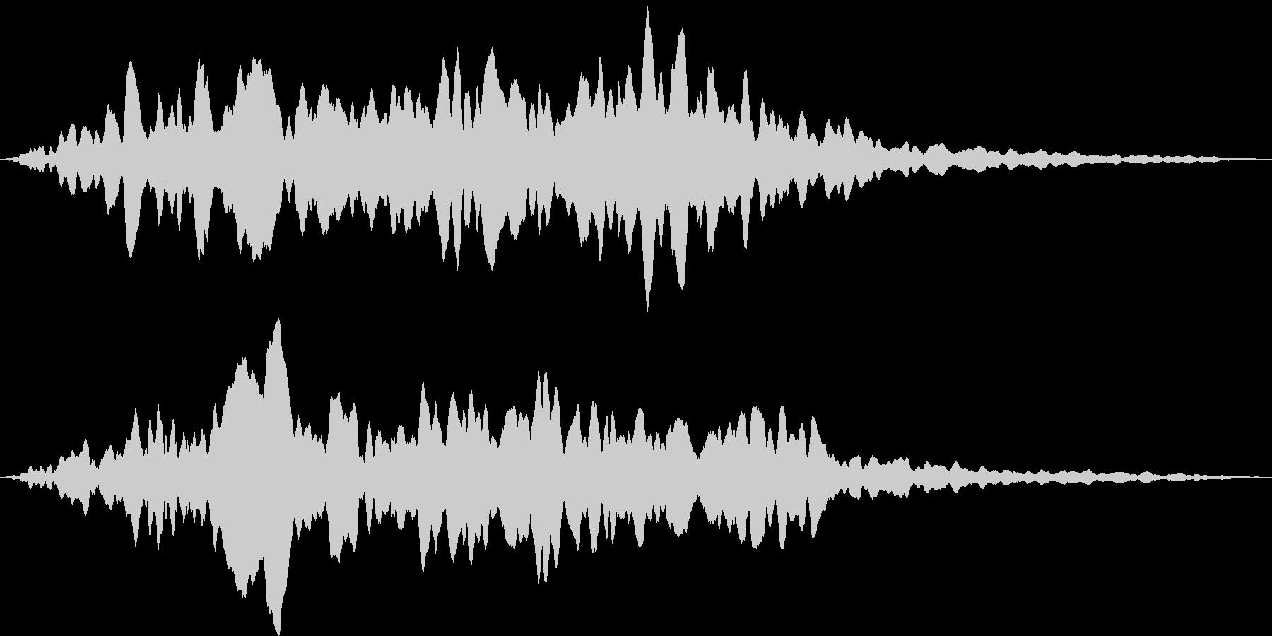 コーラスクワイヤー アンセムの未再生の波形