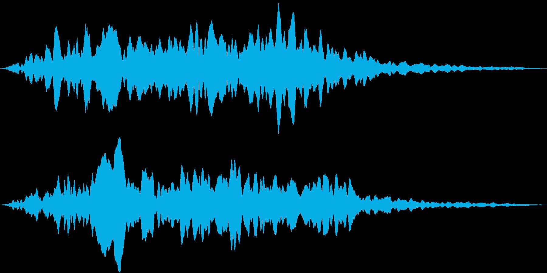 コーラスクワイヤー アンセムの再生済みの波形