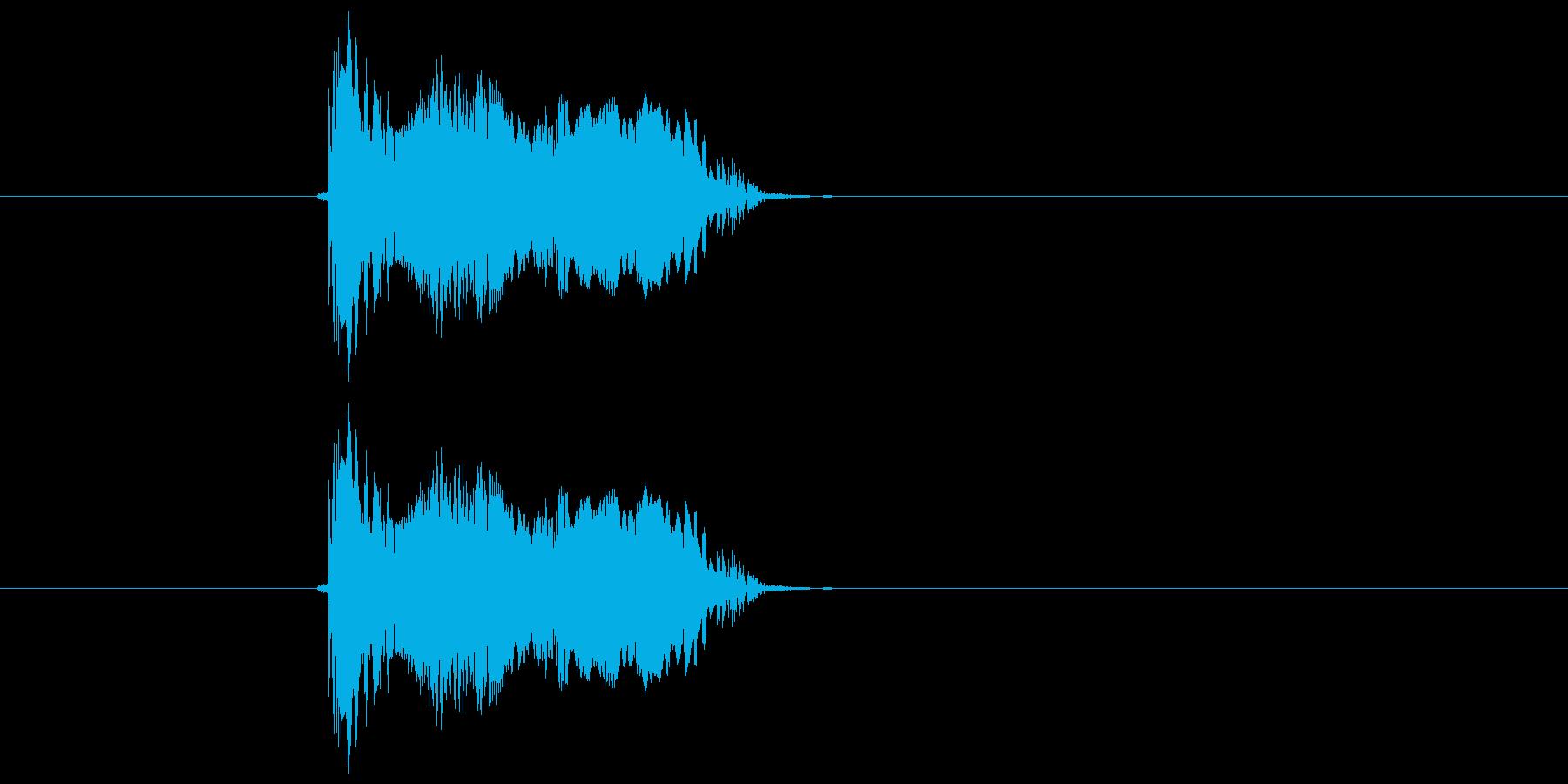 パオ!の再生済みの波形