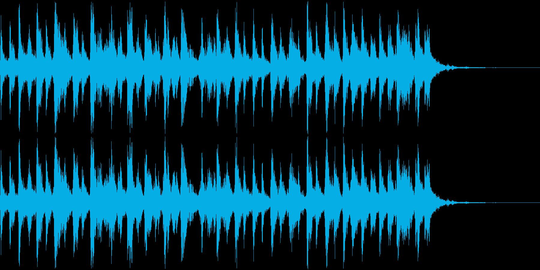 シャンシャンシャン クリスマスの鈴3の再生済みの波形