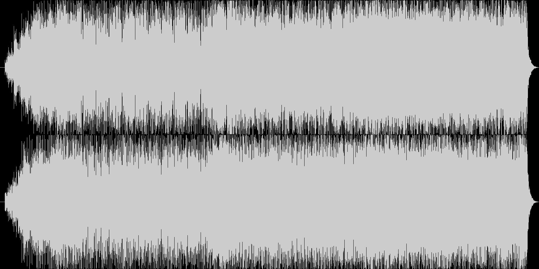 ワクワクするようなエレクトロポップの未再生の波形