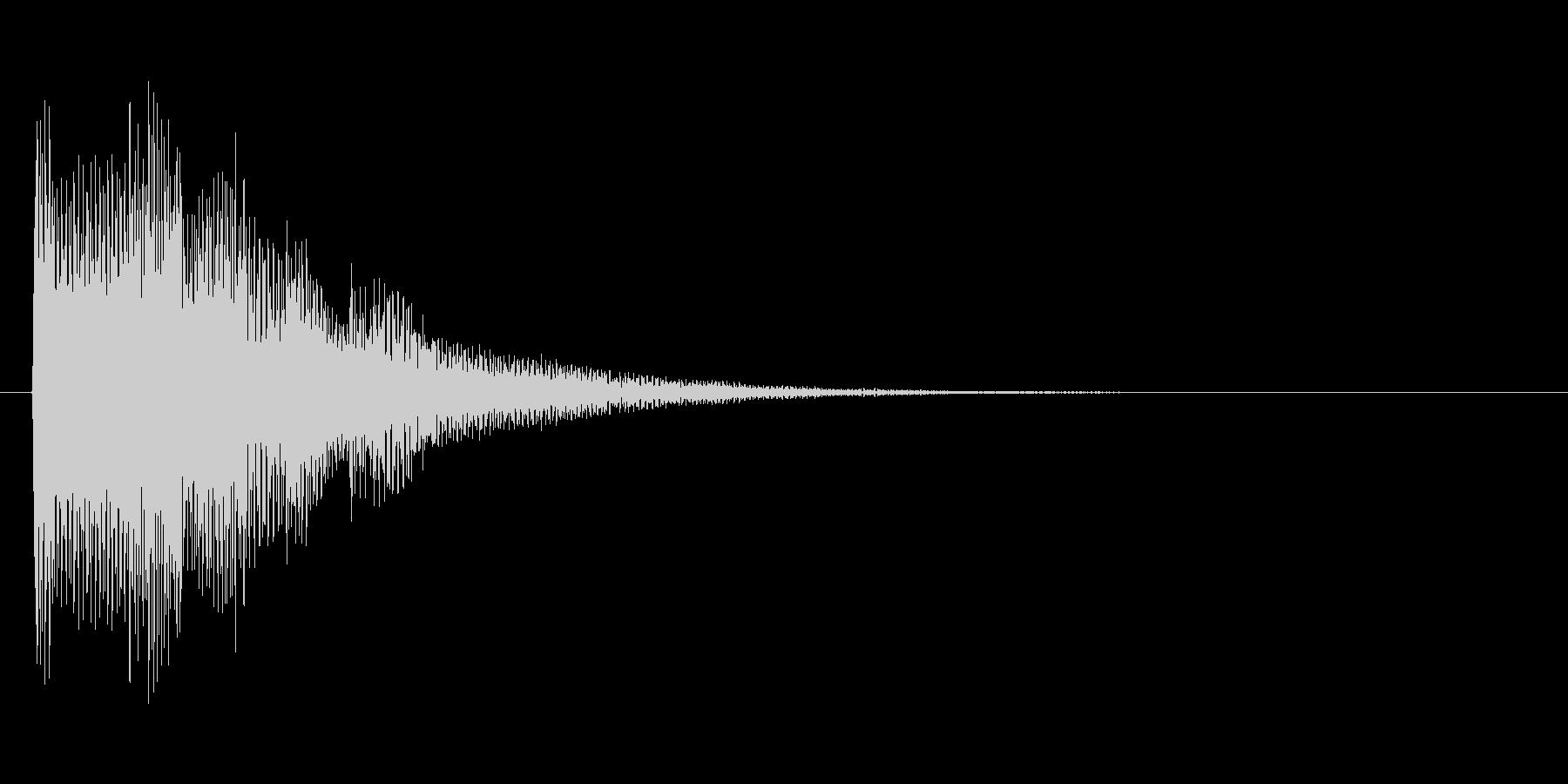 アイテムを入手した時のキラキラ音_その3の未再生の波形