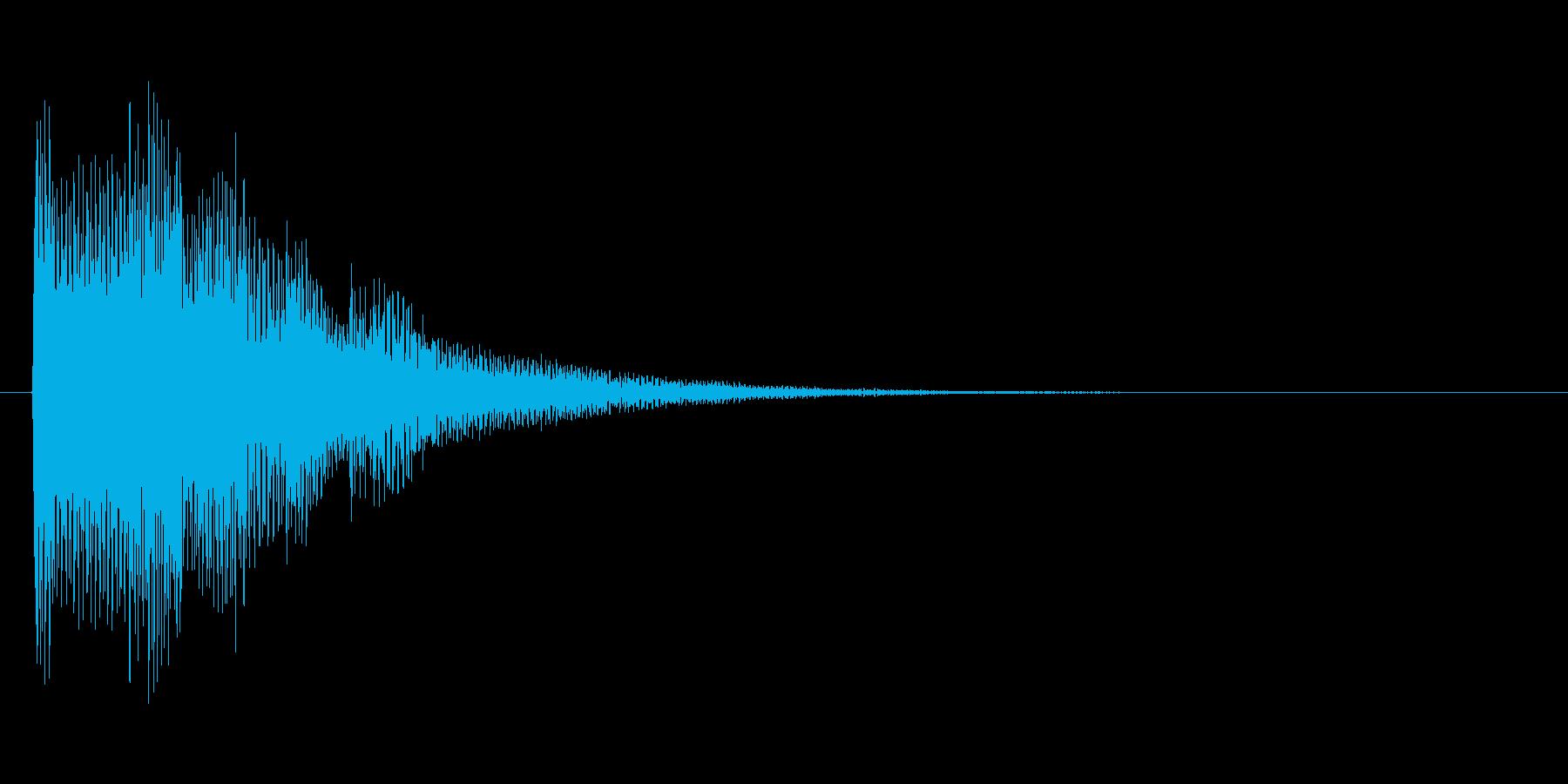 アイテムを入手した時のキラキラ音_その3の再生済みの波形