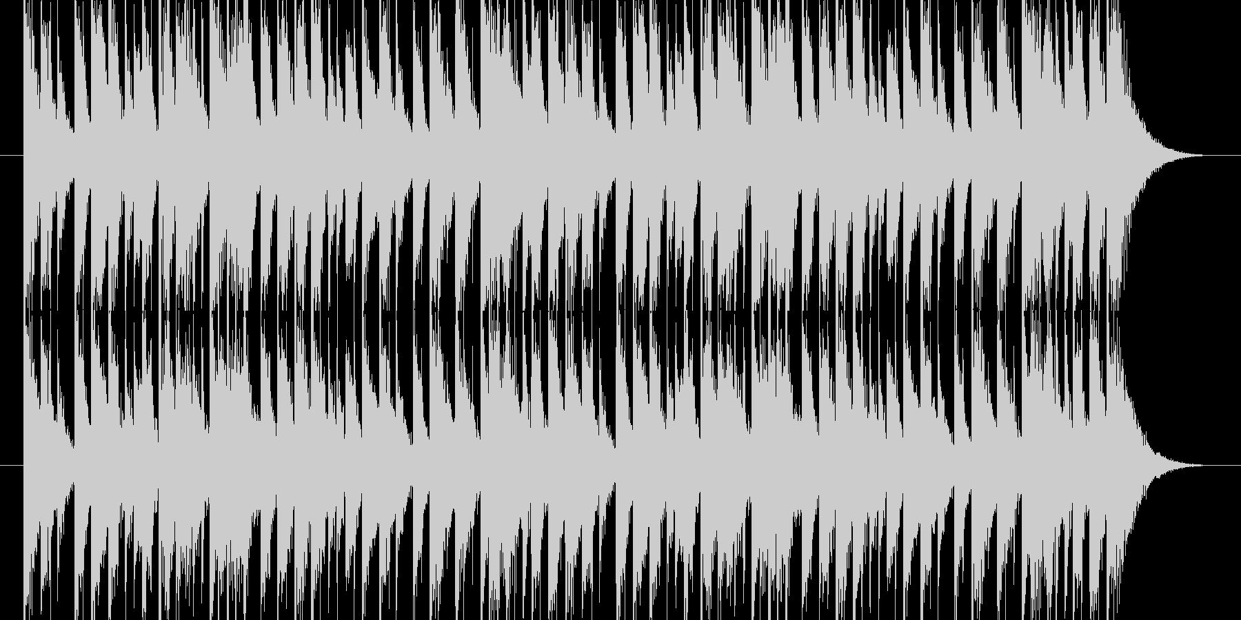 CMなどのジングルの未再生の波形