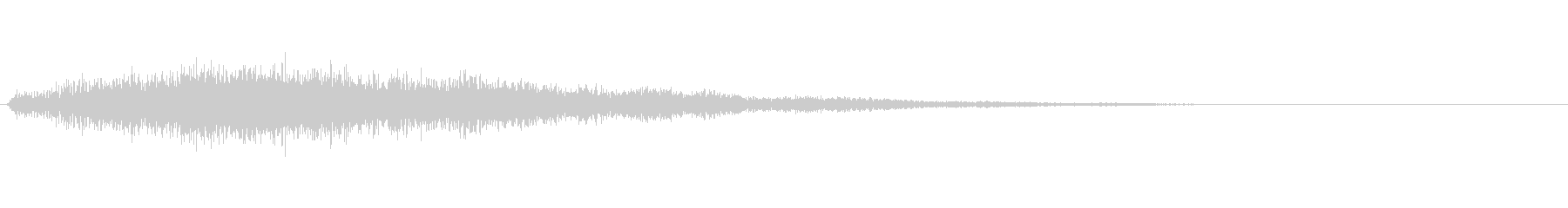 ゴージャスな決定音5の未再生の波形