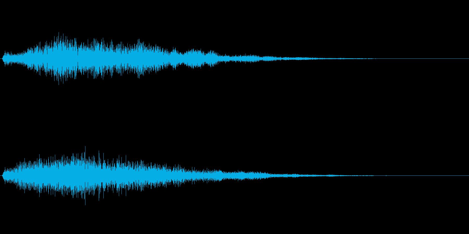 ゴージャスな決定音5の再生済みの波形