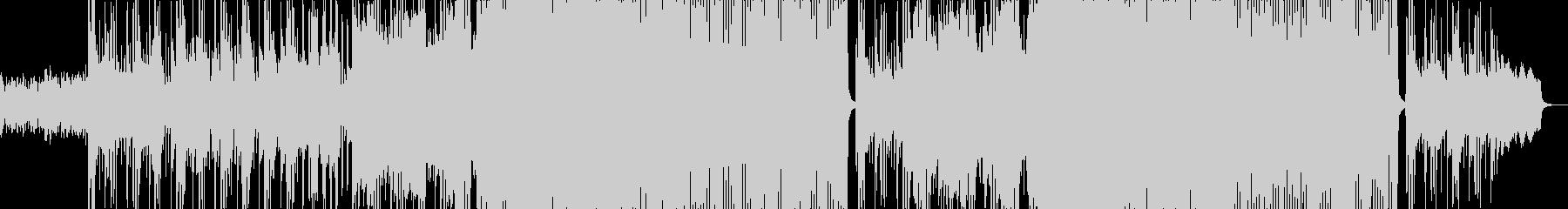 ダーク系女性ボーカルの未再生の波形