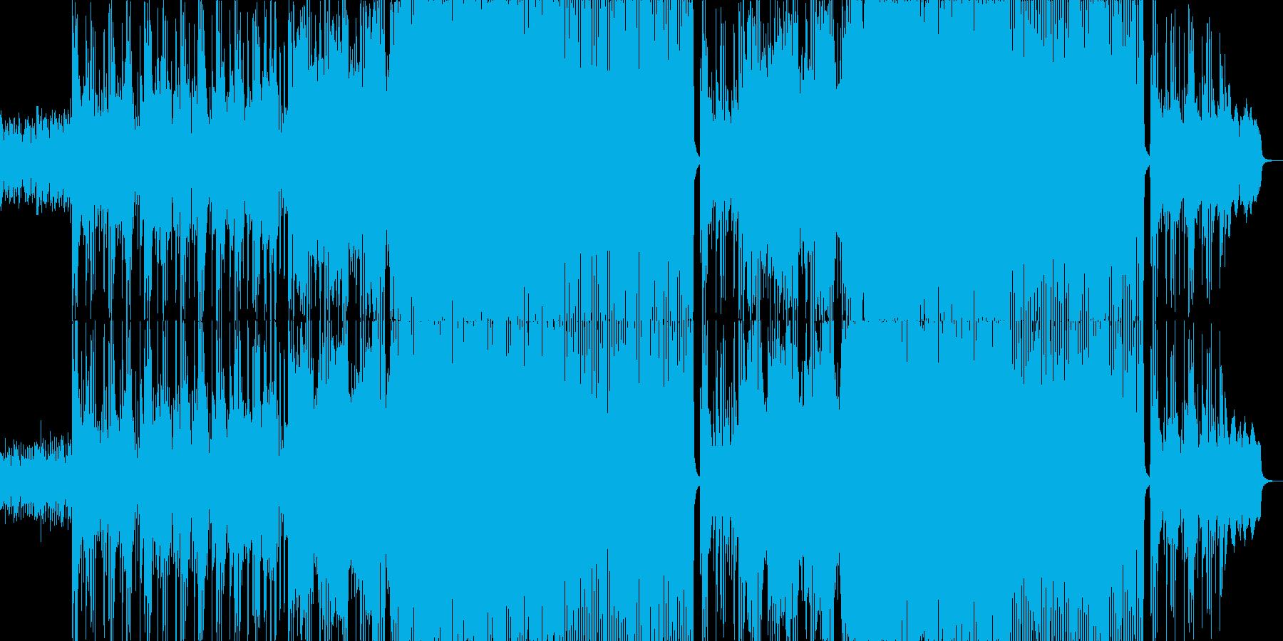 ダーク系女性ボーカルの再生済みの波形