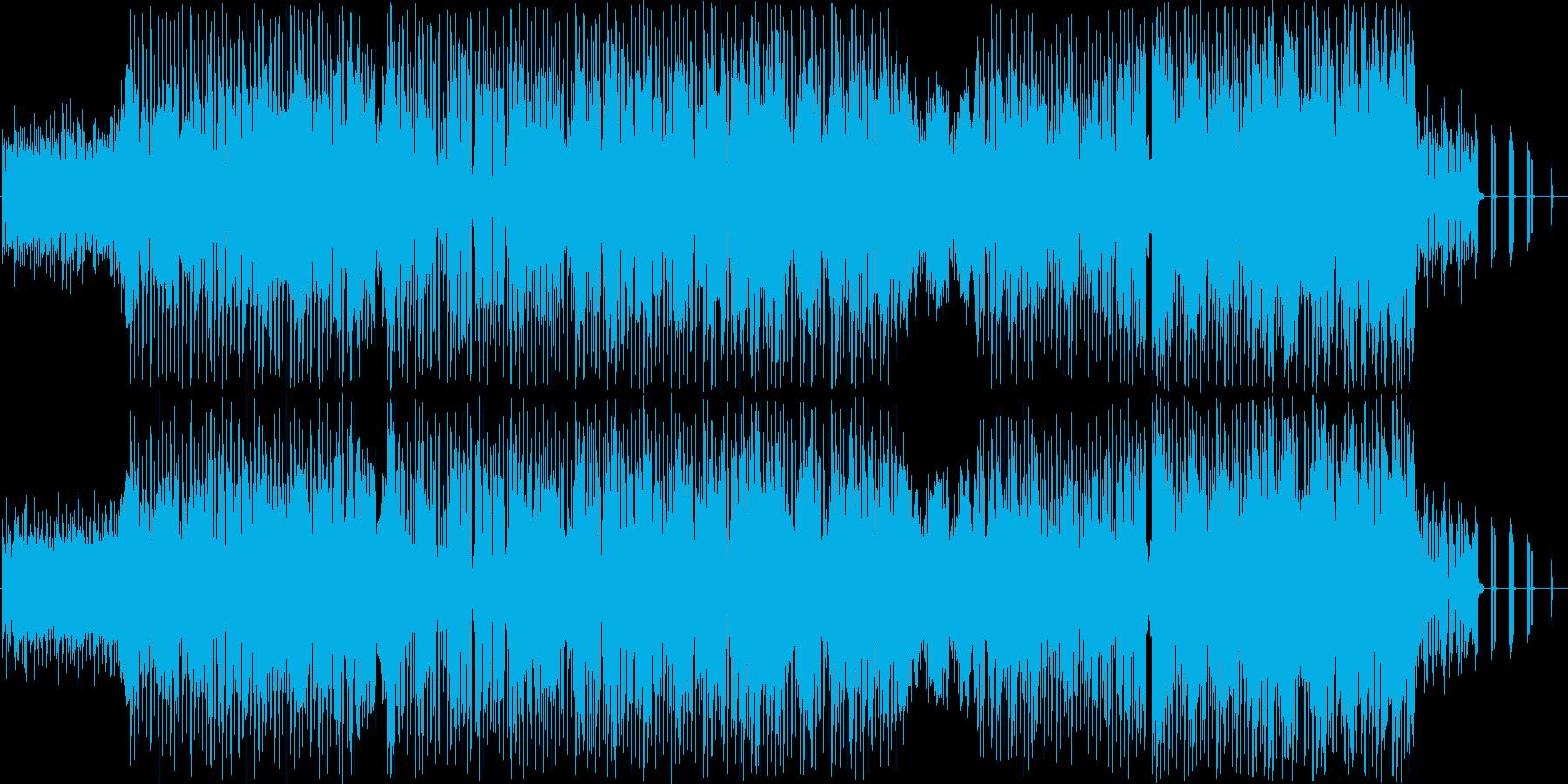 テクノです。『Tr』シリーズの基本理念…の再生済みの波形