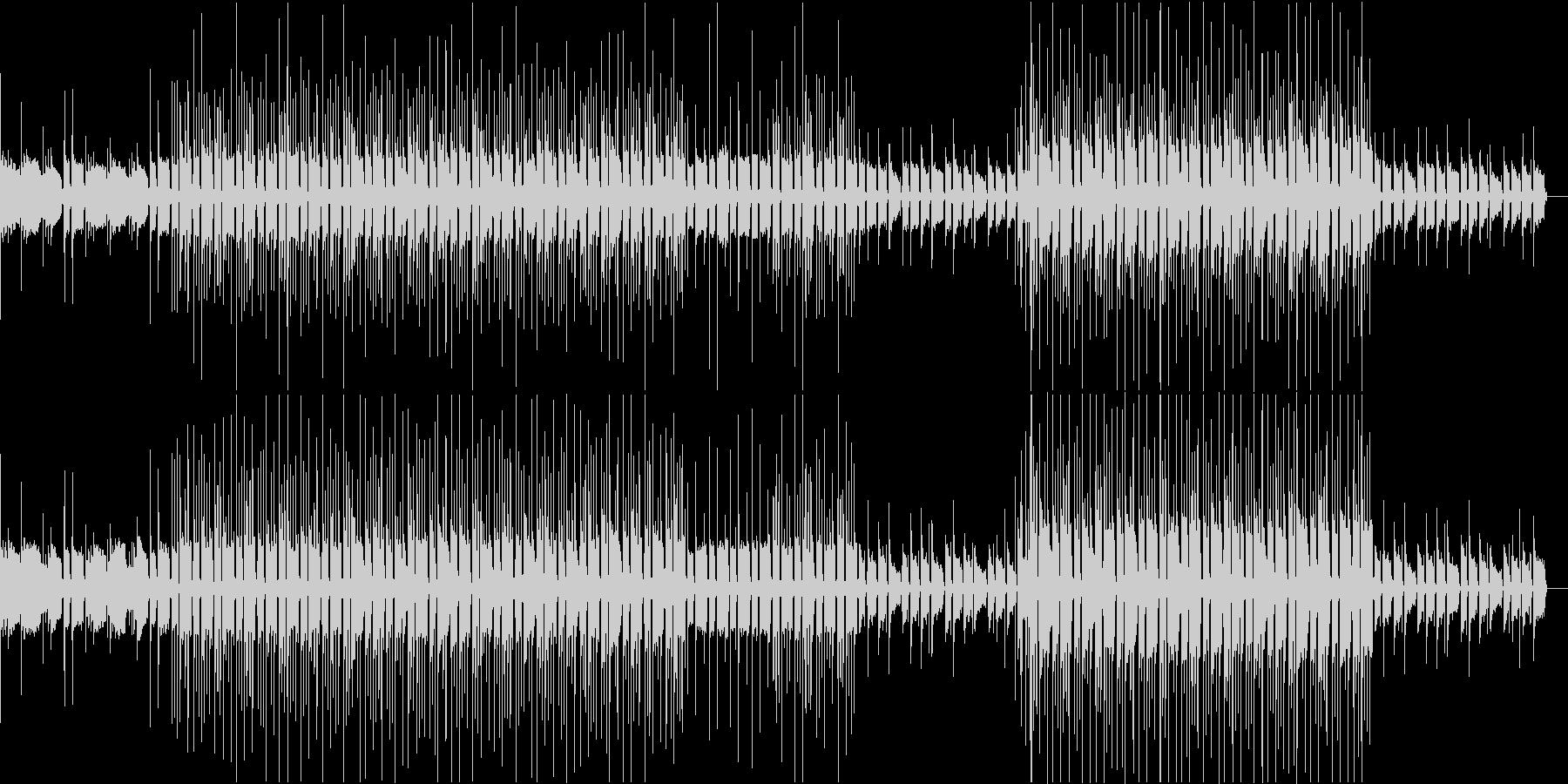 【ピアノ抜】やさしくて透明感のあるギターの未再生の波形