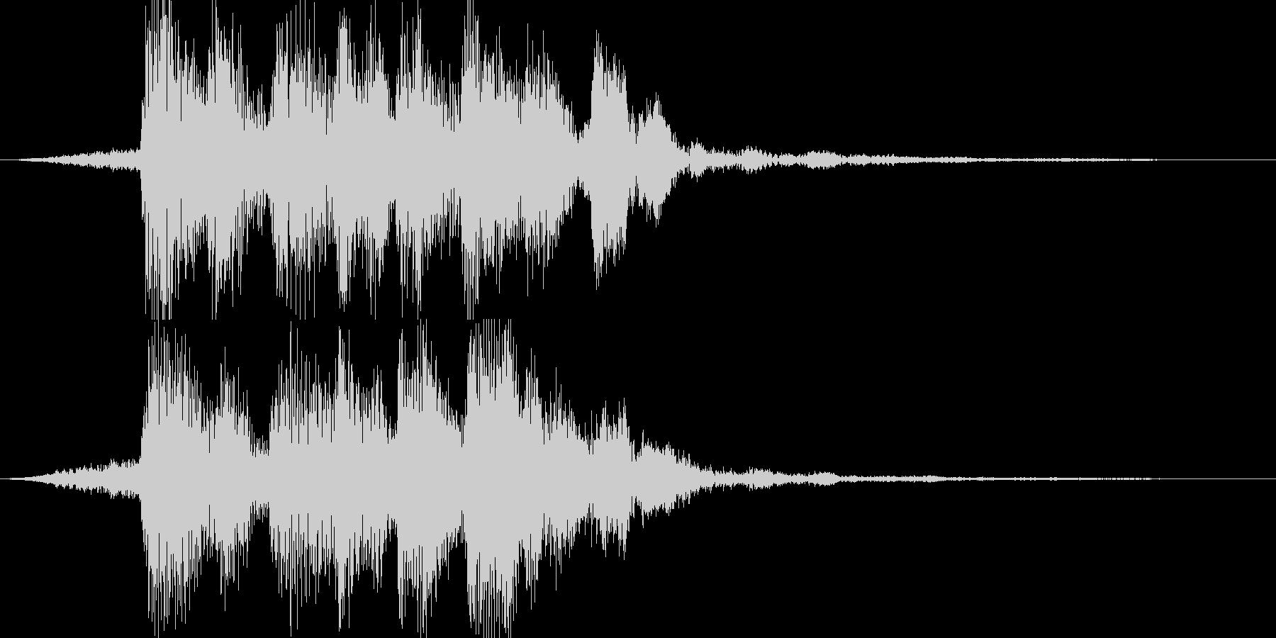 【ジングル】不思議系ジングルの未再生の波形