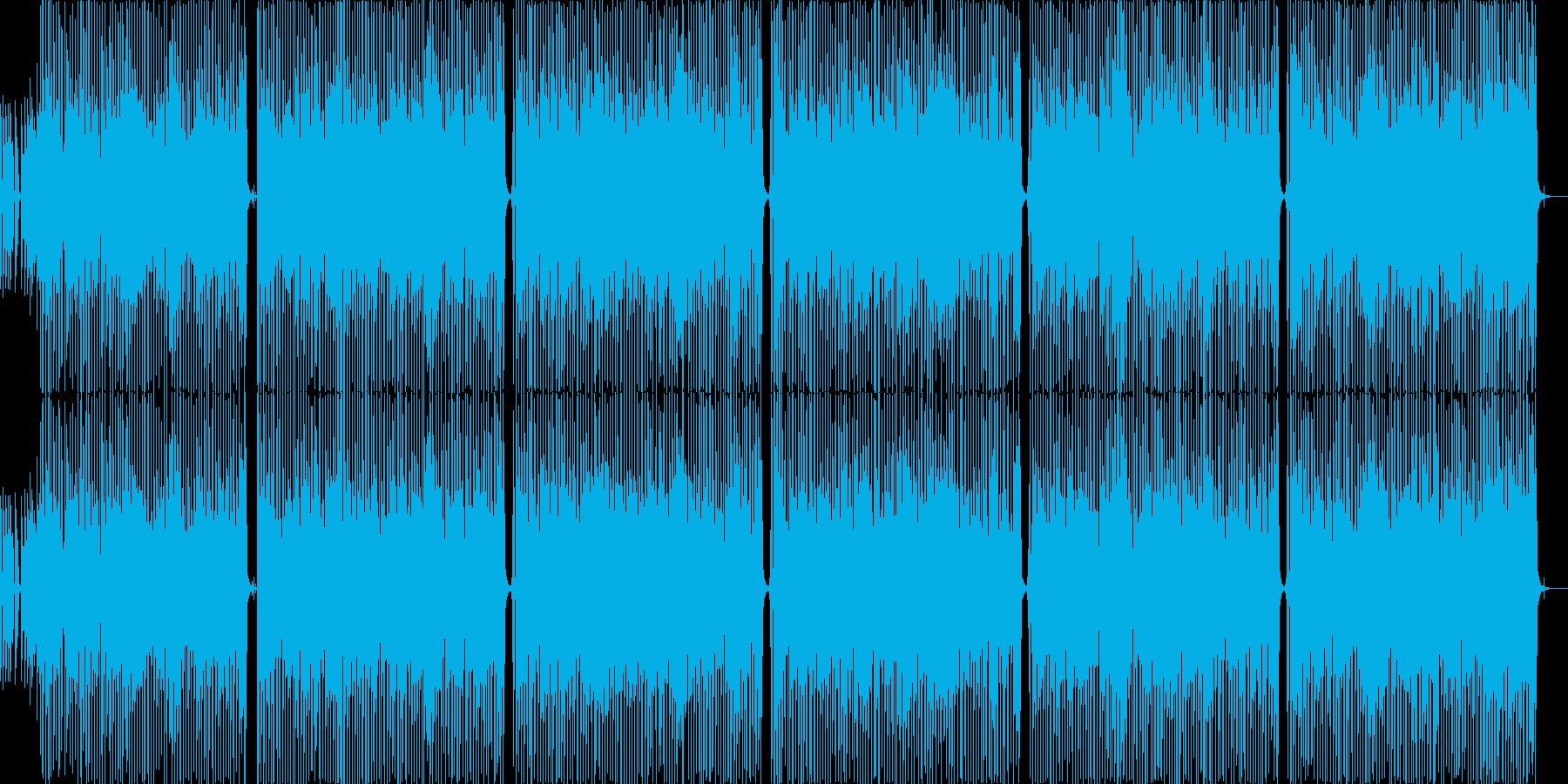 アップテンポのロックロール!200bpmの再生済みの波形