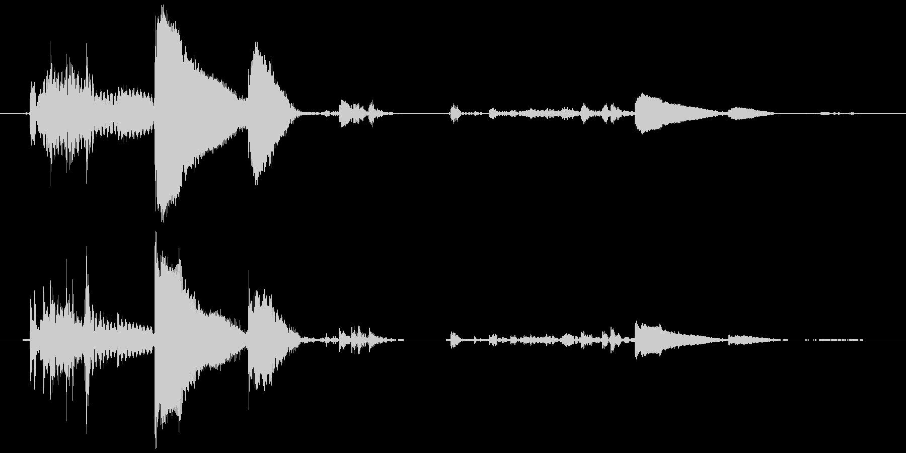鈴の音 (高音)チッリッの未再生の波形