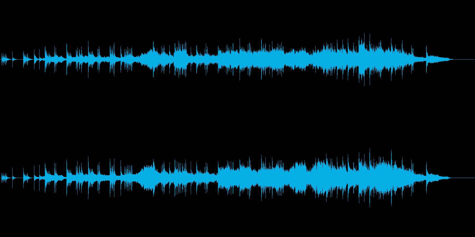 伝統美を追求した琴と尺八による邦楽の再生済みの波形
